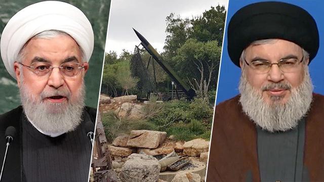 Hassan Rouhani and Hassan Nasrallah