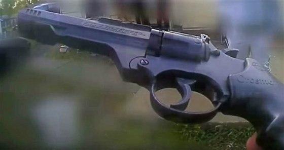 אקדח הצעצוע (צילום: משטרת קולומבוס, אוהיו)