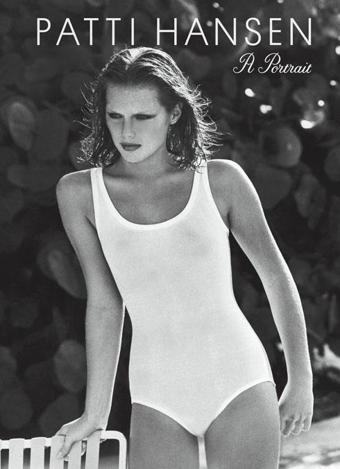 "עטיפת הספר החדש ""פטי הנסן: דיוקן"" (צילום: Patti Hansen: A Portrait by Ivan Shaw, foreword by Karlie Kloss, © Condé Nast Archive)"