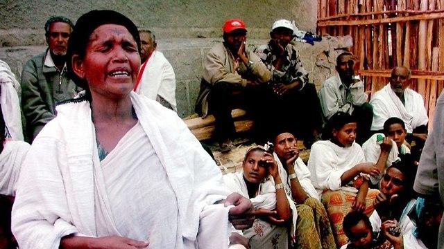 יהודי אתיופיה בגונדר (צילום: דני אדינו אבבה)
