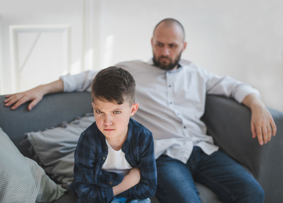 הילד שלכם - לפני הכל הוא השתקפות שלכם. זכרו זאת תמיד (צילום: Shutterstock)