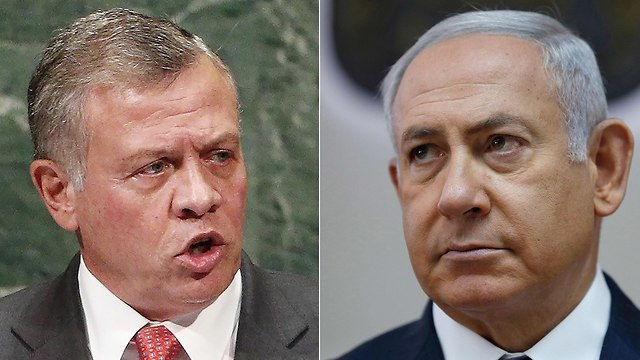 King Abdullah's decision came as a surprise in Jerusalem. (Photo: EPA)
