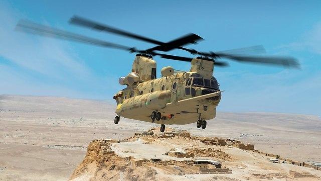 מטוס CH-47 צ'ינוק (צילום: בואינג )