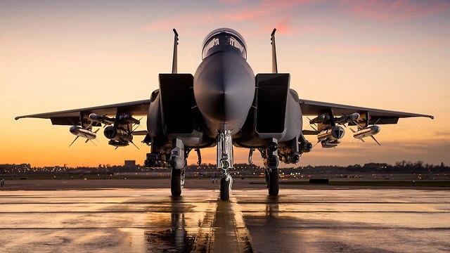 מטוס קרב מסוג F-15 (צילום: בואינג)