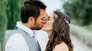 החתונה של יובל ואורי (צילום: צוריה וילף)