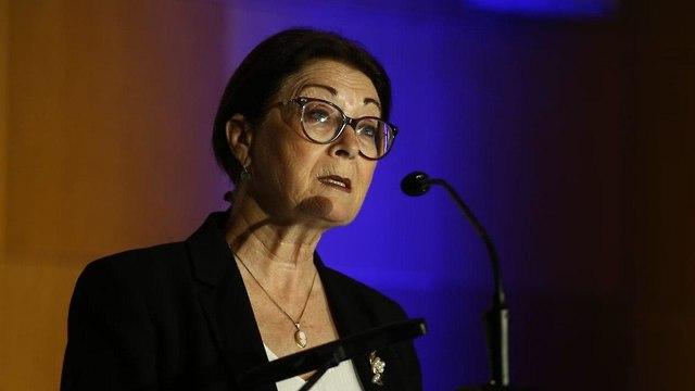 נשיאת בית המשפט העליון אסתר חיות נאום ירושלים יום עיון שנתי אגף תקציבים (צילום: אוהד צויגנברג )