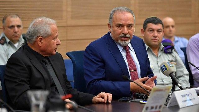Avigdor Lieberman (Photo: Ariel Harmoni, The defense ministry )
