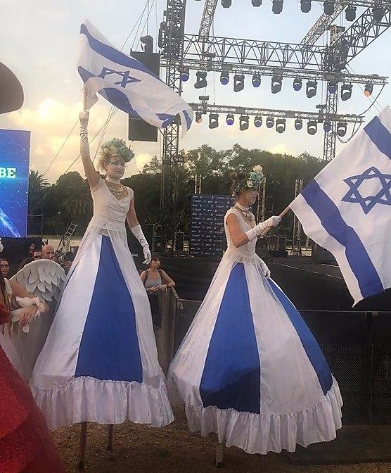 חגיגה ציונית בגני יהושע (ריפליי הפקות צילום)