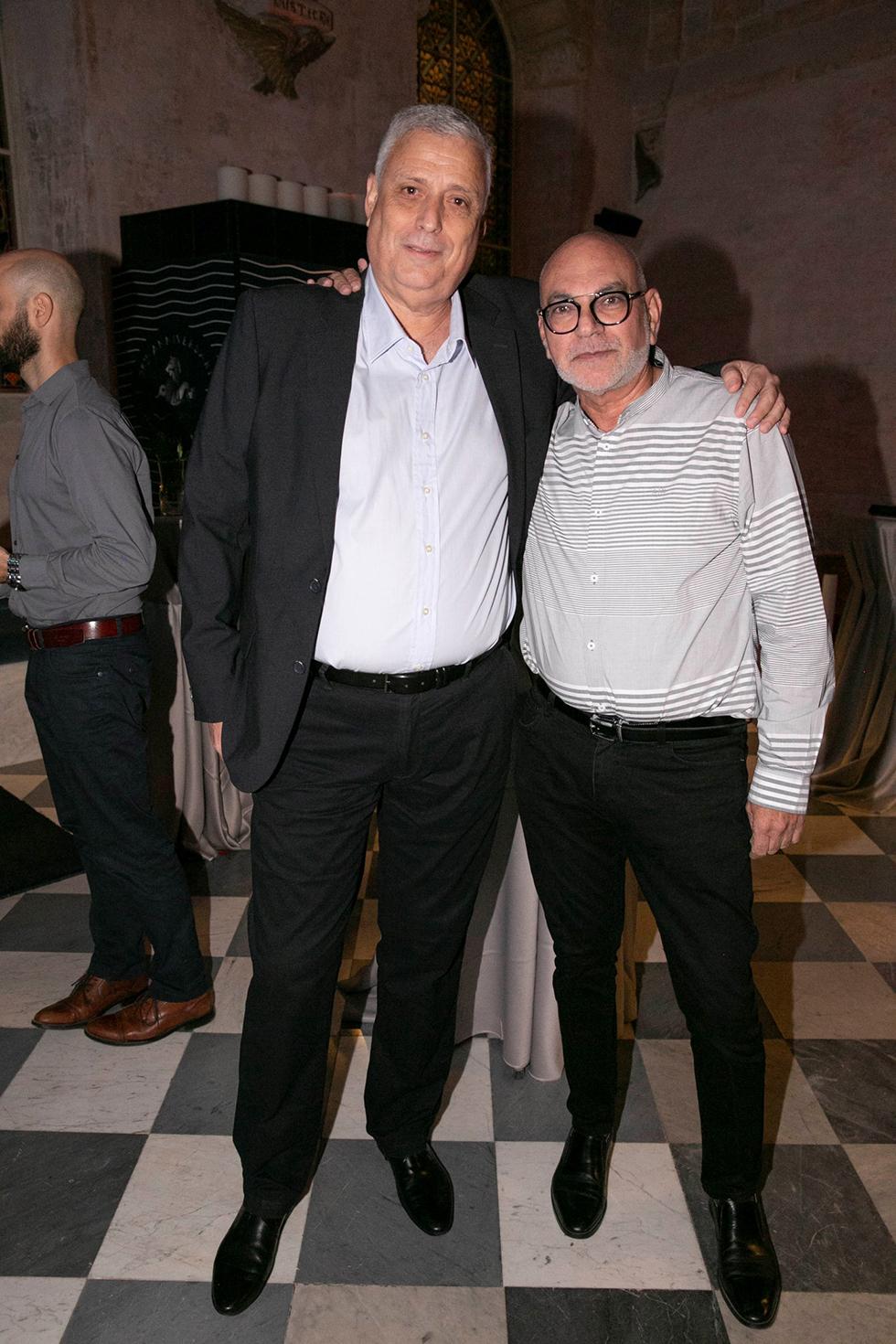 משה רוזנבלום ודודו פולטרוק (צילום: ערן לם)