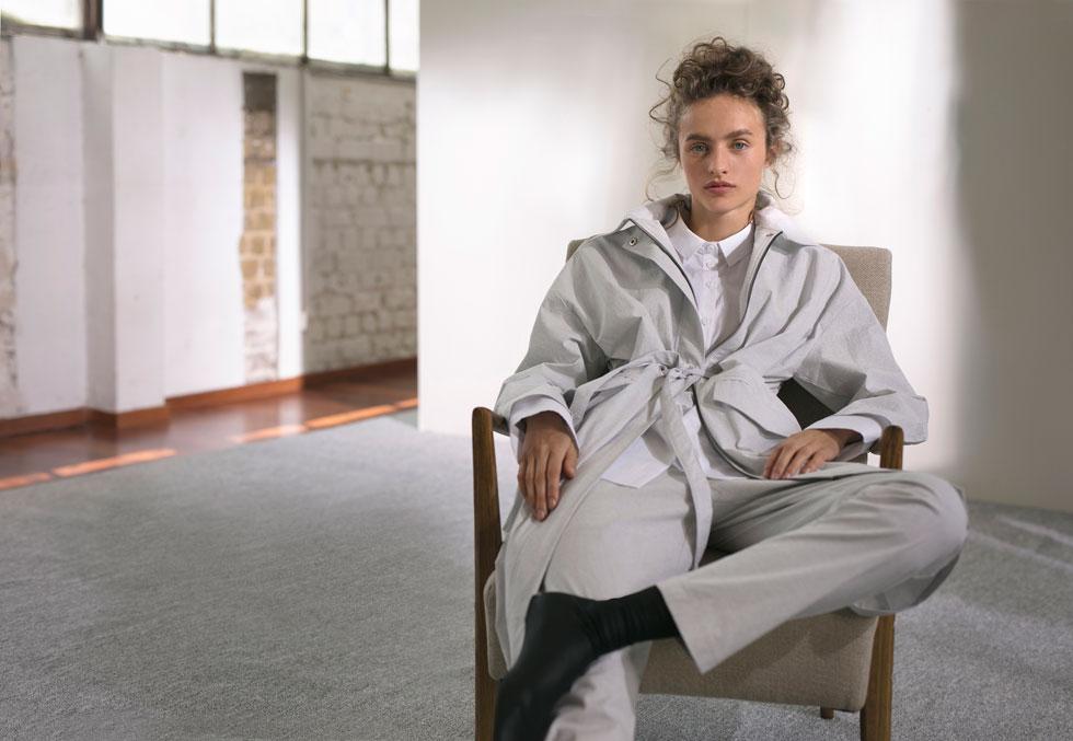 רונן חן. השראה מבגדי עבודה וחייטות גברית (צילום: דודי חסון)