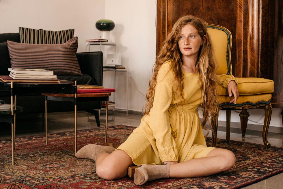 יאנגה. אוסף שמלות רחב ומוצלח (צילום: דניאל זקונט)