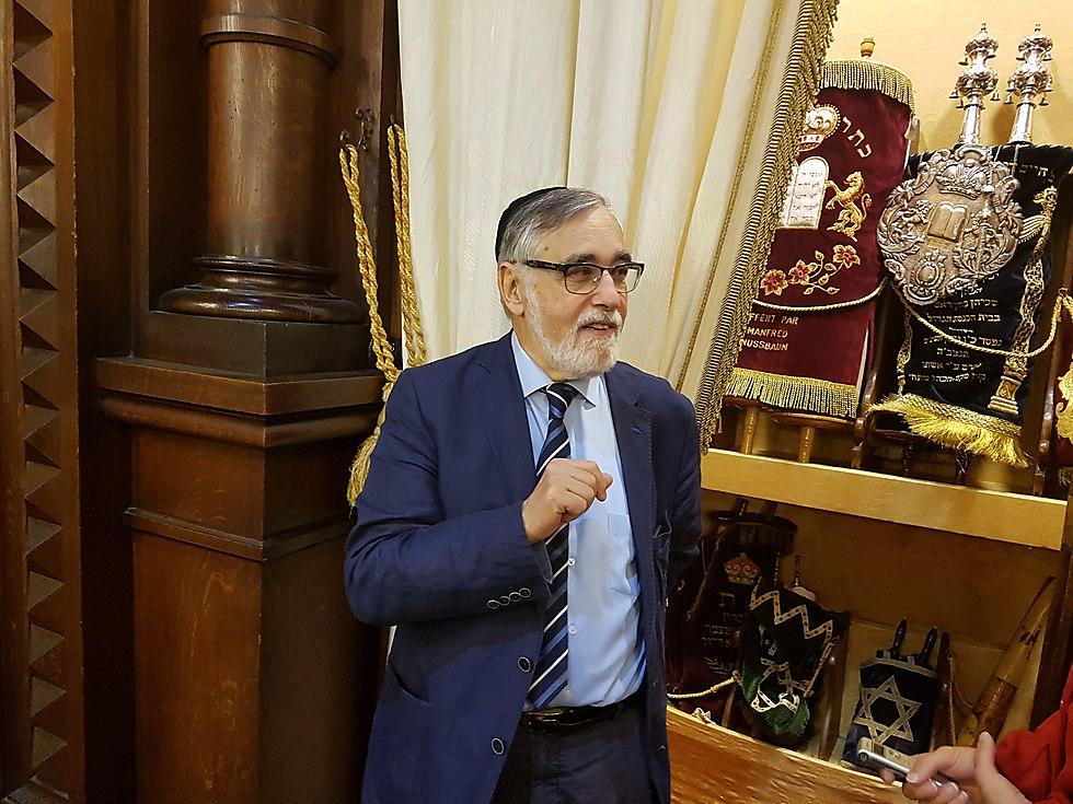 Раввин Гиги. Фото: Узиэль Сабато и Бени Мизрахи
