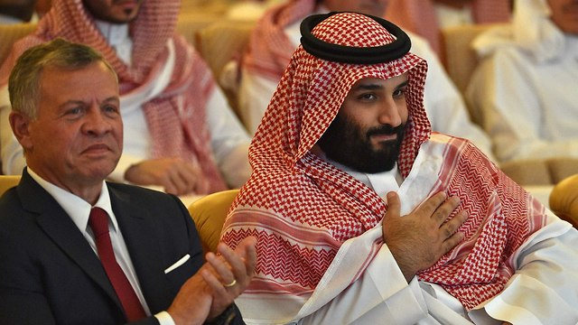 King Abdullah II of Jordan and Saudi Crown Prince Mohammed bin Salman (Photo: AFP) (Photo: AFP)