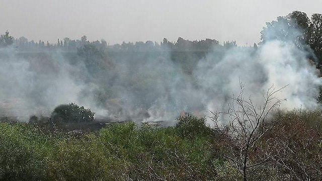 Fire erupting amid incendiary balloons across Gaza border communities