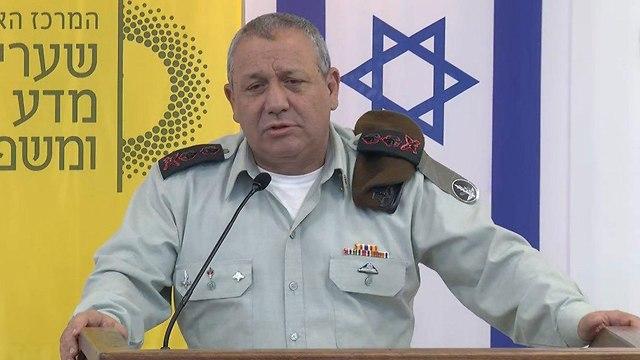 IDF Chief of Staff Lt. Gen. Gadi Eizenkot (Photo: Amit Hoover)