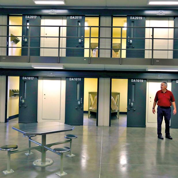 כלא פיניקס, מבט מבפנים. הבידוד בימים הראשונים נועד להגן על חייו | צילום: AP