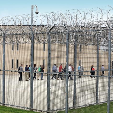כלא פיניקס בפנסילבניה, ביתו לשנים הקרובות | צילום: AP