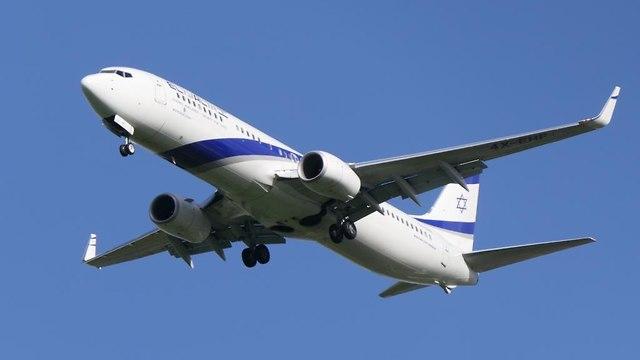 מטוס הבואינג 737 של אל על (צילום: דני שדה)
