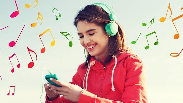 מוזיקה ברשת (אילוסטרציה: Shutterstock)