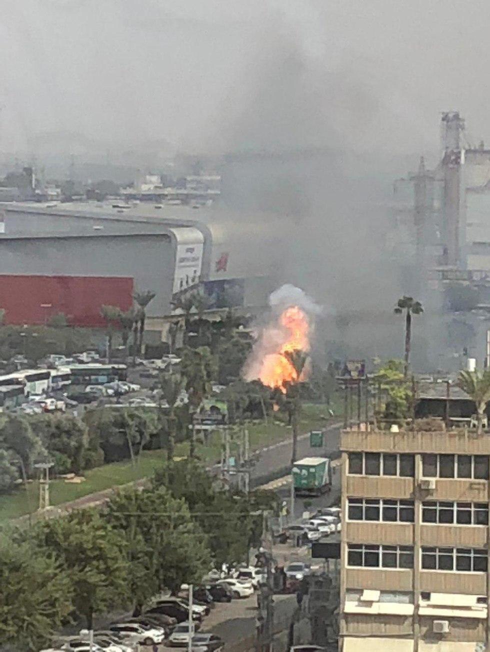 Взрыв в Рамат-Гане. Фото: Хед Брат