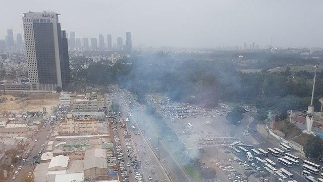 Взрыв в Рамат-Гане. Фото:Анна Виноградов