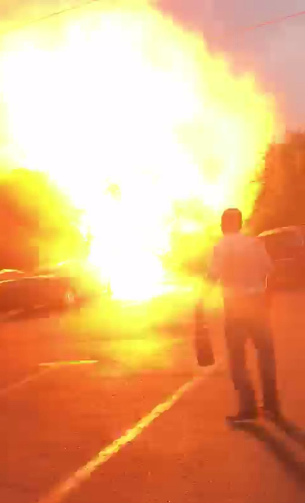 Взрыв в Рамат-Гане
