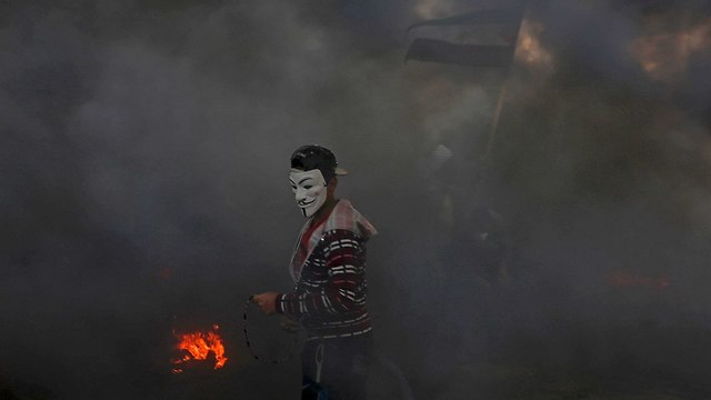 Gaza border riot (Photo: AP)
