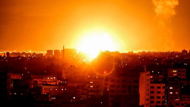 IDF strikes Gaza (Photo: AFP)