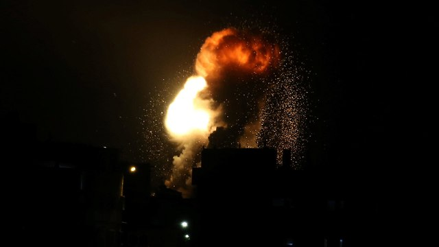 Israeli Air Force strikes in Gaza  (Photo: Reuters)
