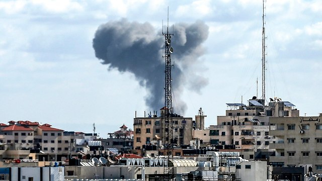 IDF strikes in Gaza (Photo: AFP)