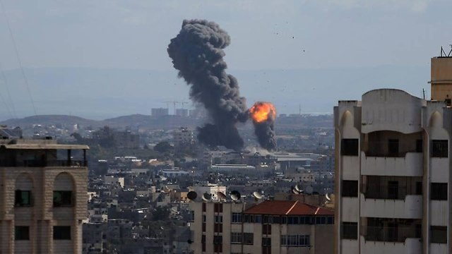IAF strike in Gaza
