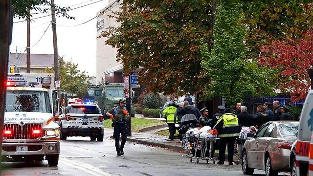 """טבח מזעזע בארה""""ב 11 יהודים נרצחו בבית הכנסת בפיטסבורג ביום שבת על ידי רוצח מתועב 88463100991599640360no"""