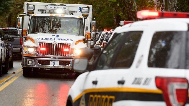 אירוע ירי בפיטסבורג (צילום: gettyimages)