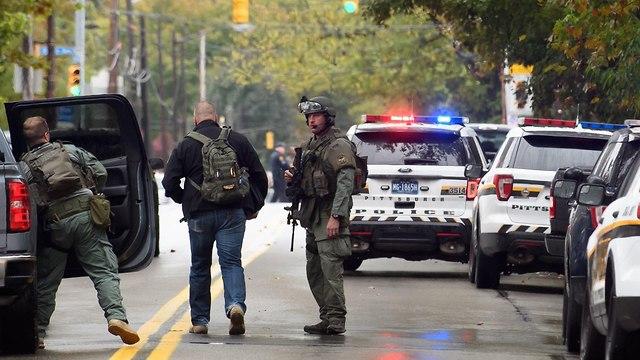 Полицейские возле синагоги. Фото: АFP (Photo: AFP)