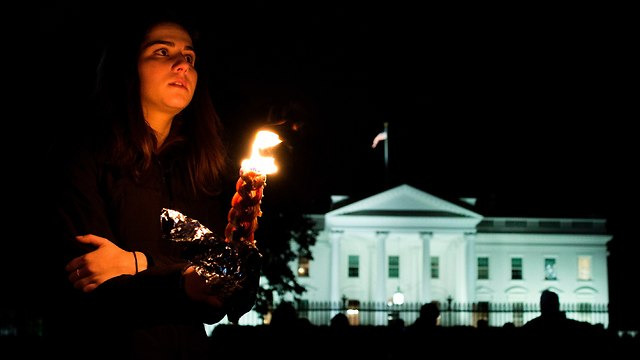 Vigil in Washington (Photo: AFP)