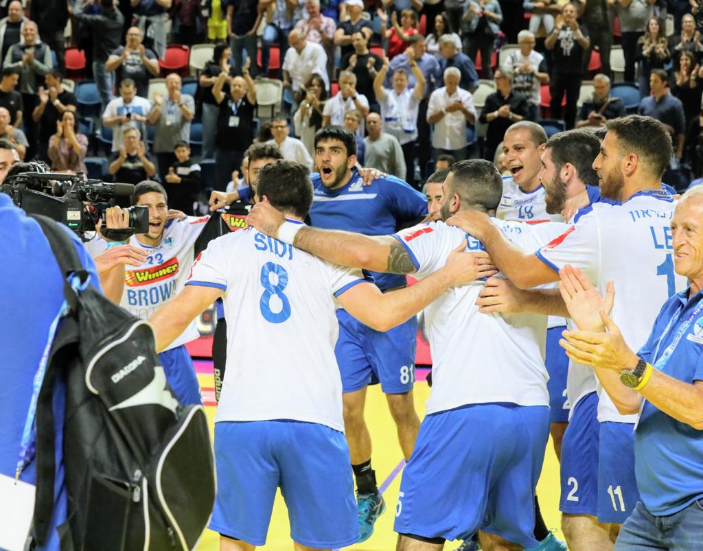נבחרת ישראל כדוריד (צילום: הדר ואן קולא, איגוד הכדוריד)