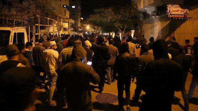 Hundreds of Palestinians demonstrate