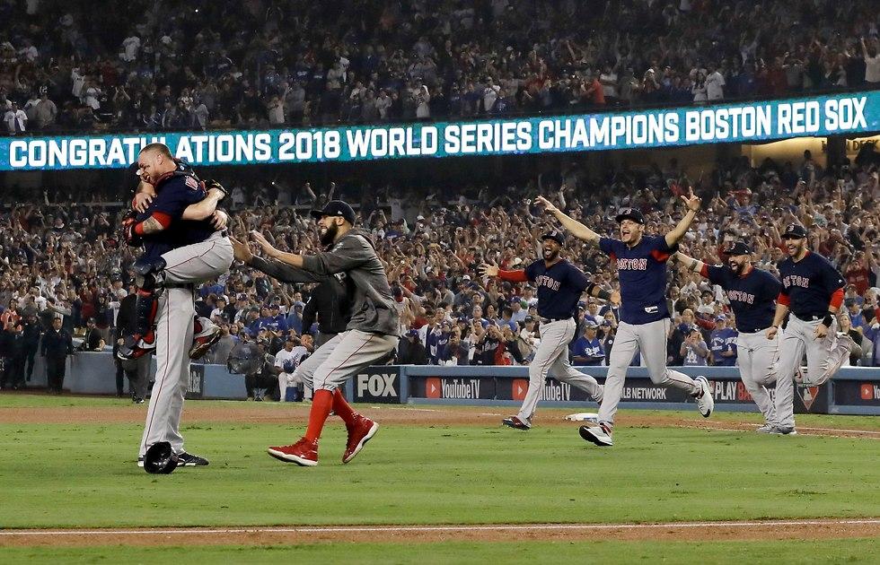 בוסטון רס סוקס אליפות בייסבול (צילום: AP)