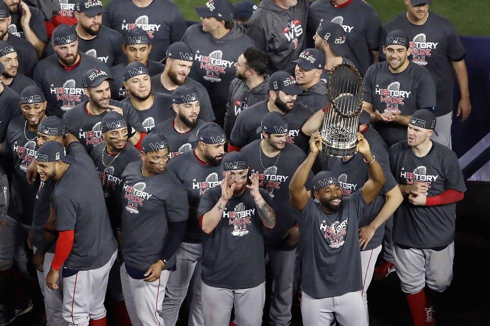 בוסטון רס סוקס אליפות בייסבול (צילום: AFP)