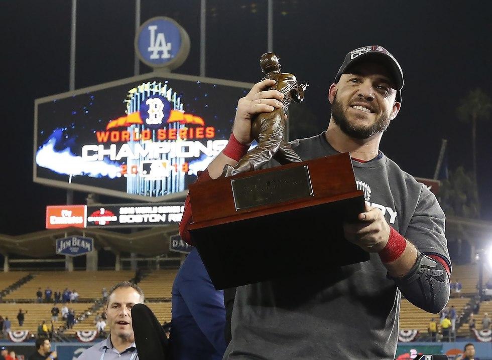 סטיב פירס בוסטון רד סוקס בייסבול (צילום: EPA)
