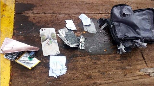 אינדונזיה התרסקות מטוס התרסק 188 נוסעים שרידים (צילום:AFP)