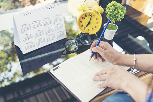 בחרי יום קבוע בשבוע שבו את נפגשת עם המנהלת שלך – שזו את (צילום: Shutterstock)