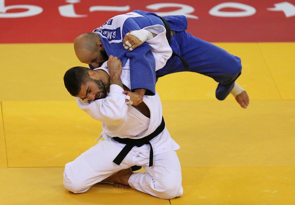 Петр Пальчик на турнире в Абу-Даби. Фото: АР