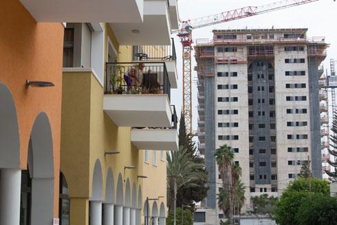 לא מגדלים גנריים, אלא בניינים נמוכים (צילום: דור נבו)