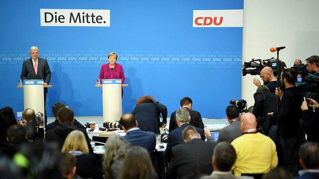קנצלרית גרמניה אנגלה מרקל מודיע ש לא תרוץ לעוד כהונה (צילום:  AFP)