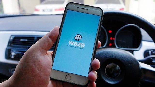 אפליקציית waze (צילום: shutterstock)