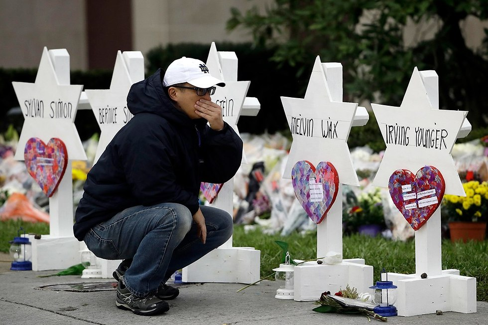 Memorial for victims of Pittsburgh synagogue massacre (Photo: AP)