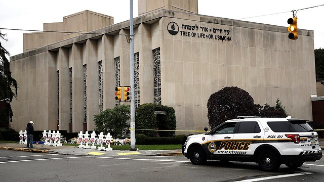Tree of Life synagogue in Pittsburgh (Photo: AP)