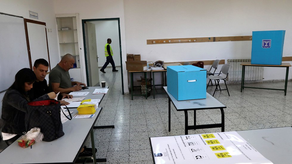 Empty polling stations in Majdal Shams (Photo: Reuters)