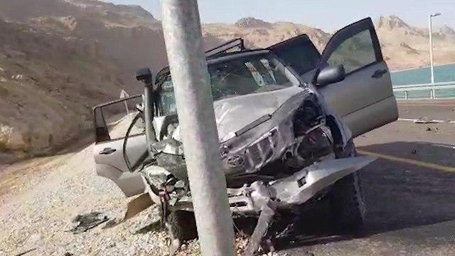 Авария на шоссе № 90